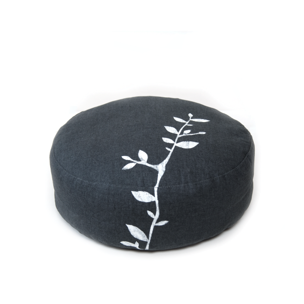 Meditation cushion Branch dark grey
