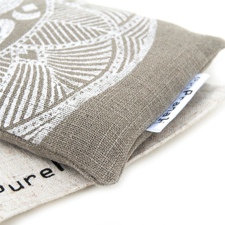 Organic eye pillow by Pure Prana Label