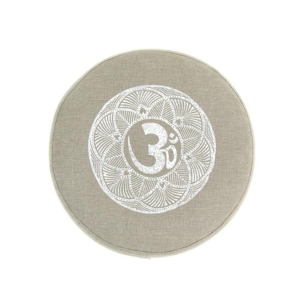 Biologisch meditatiekussen OHM door Pure Prana Label