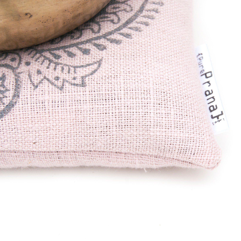Close up singing bowl cushion
