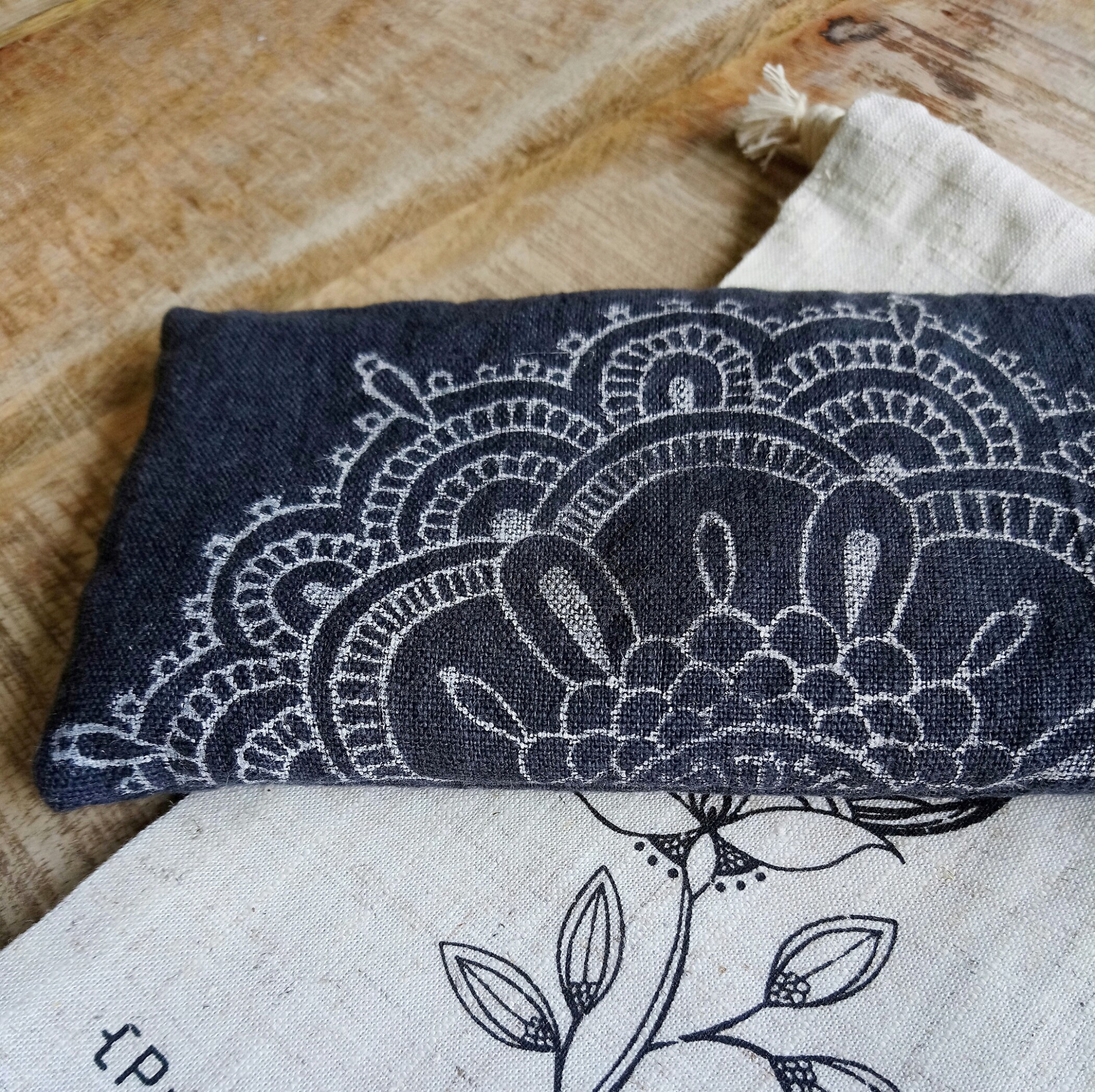 Indigo bliss eye pillow