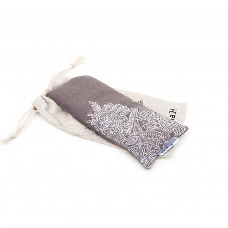 Lavendel oogkussen Taupe door Pure Prana Label