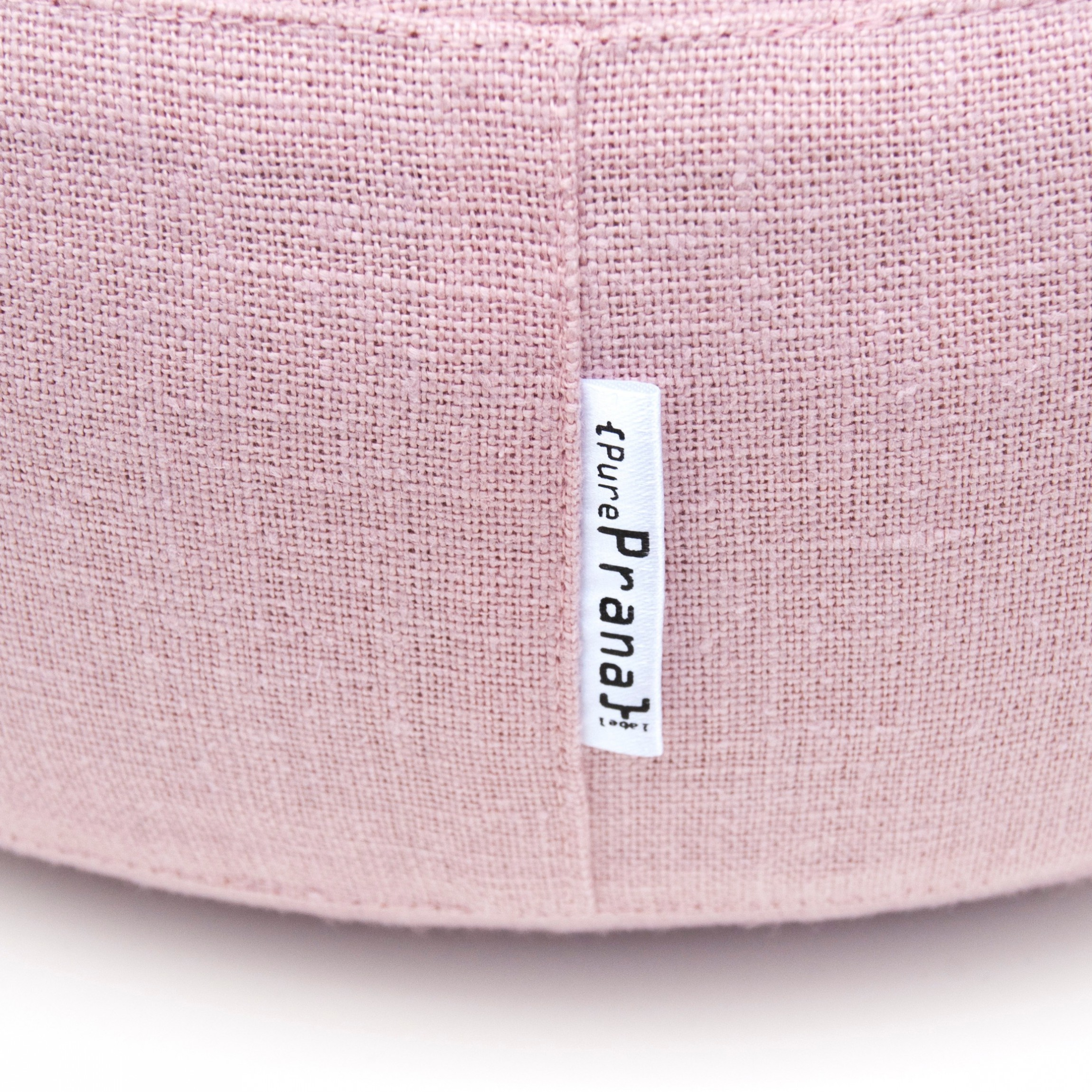 Pink meditation cushion