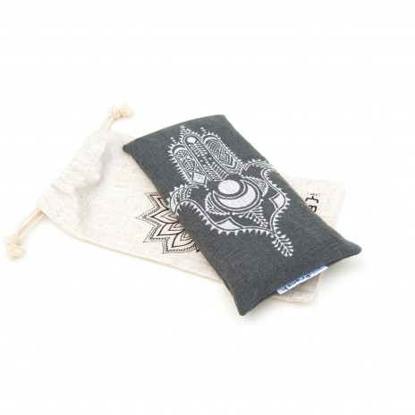 Lavender eye pillow Hamsa by Pure Prana Label
