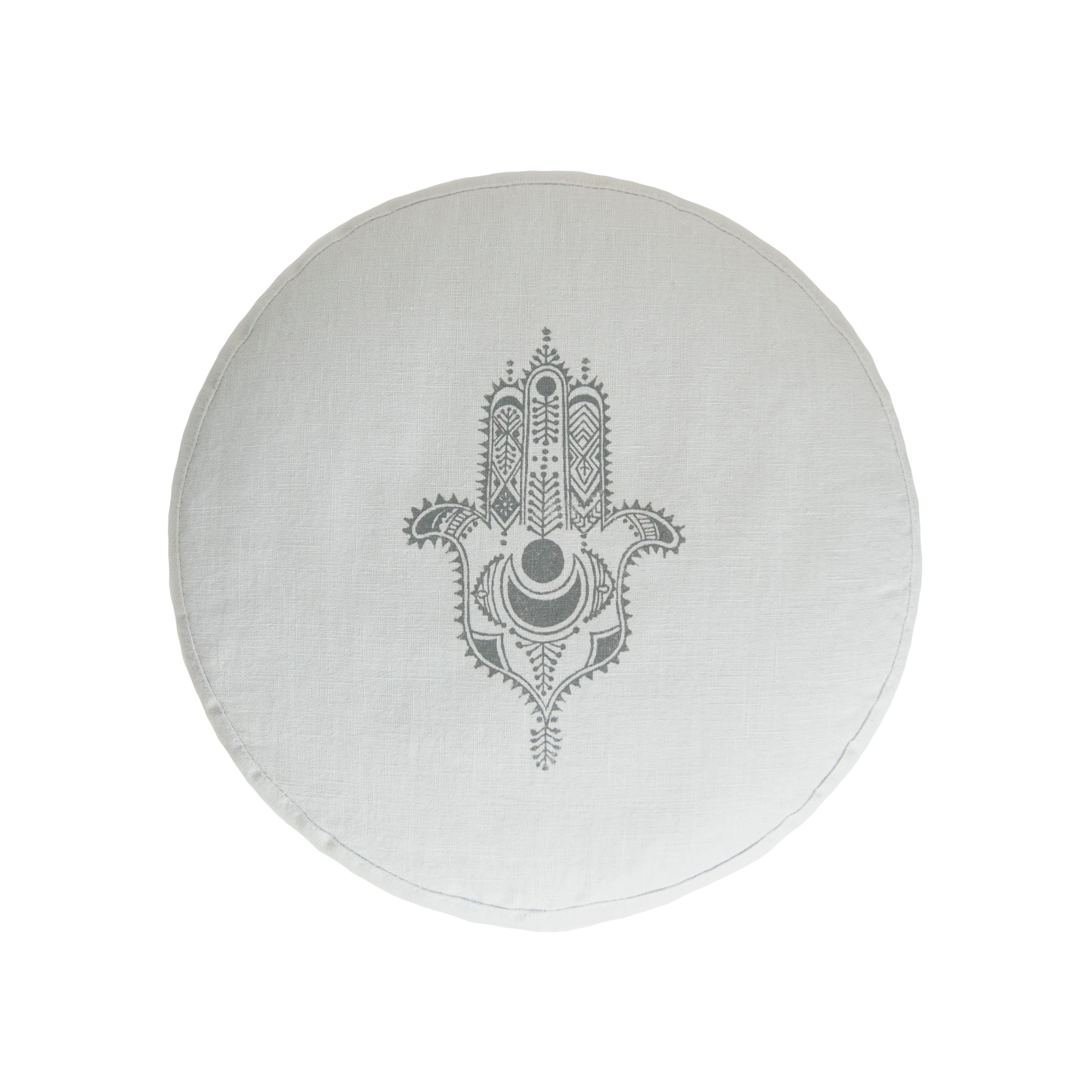 Meditation cushion Hamsa