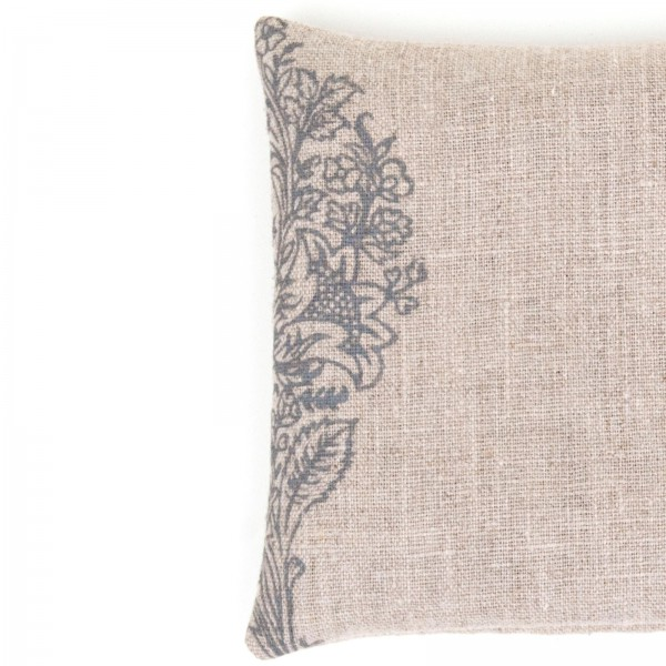 100% linen singing bowl cushion by Pure Prana Label