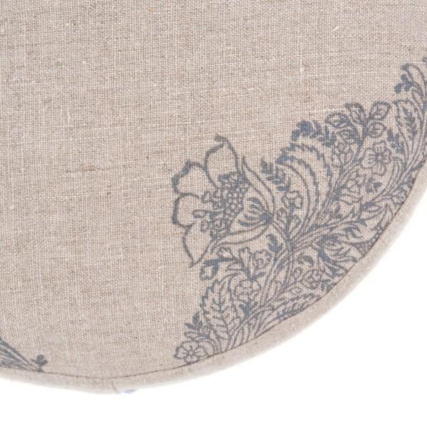 Pure Prana Label's natural meditation cushion