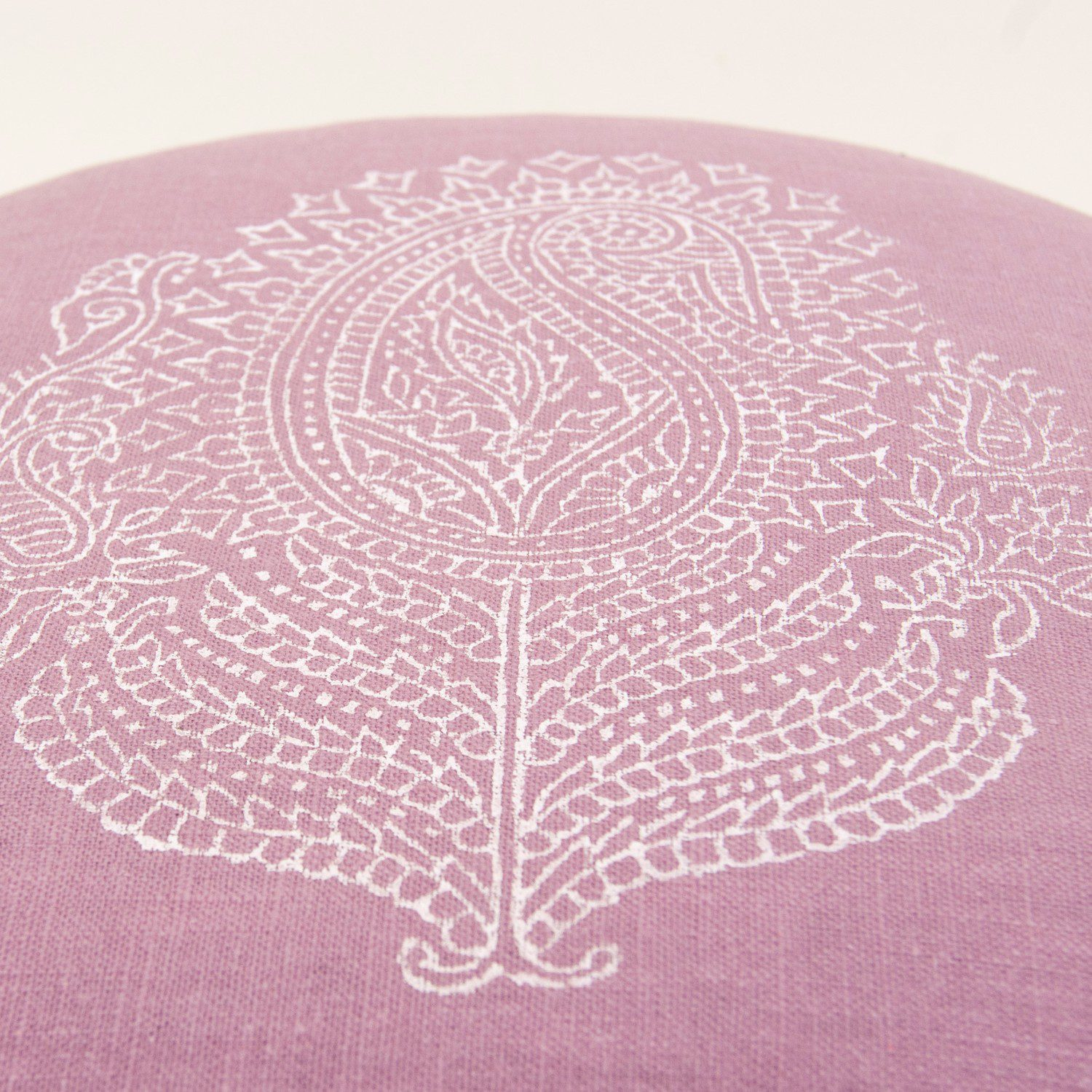 Meditation cushion Paisley