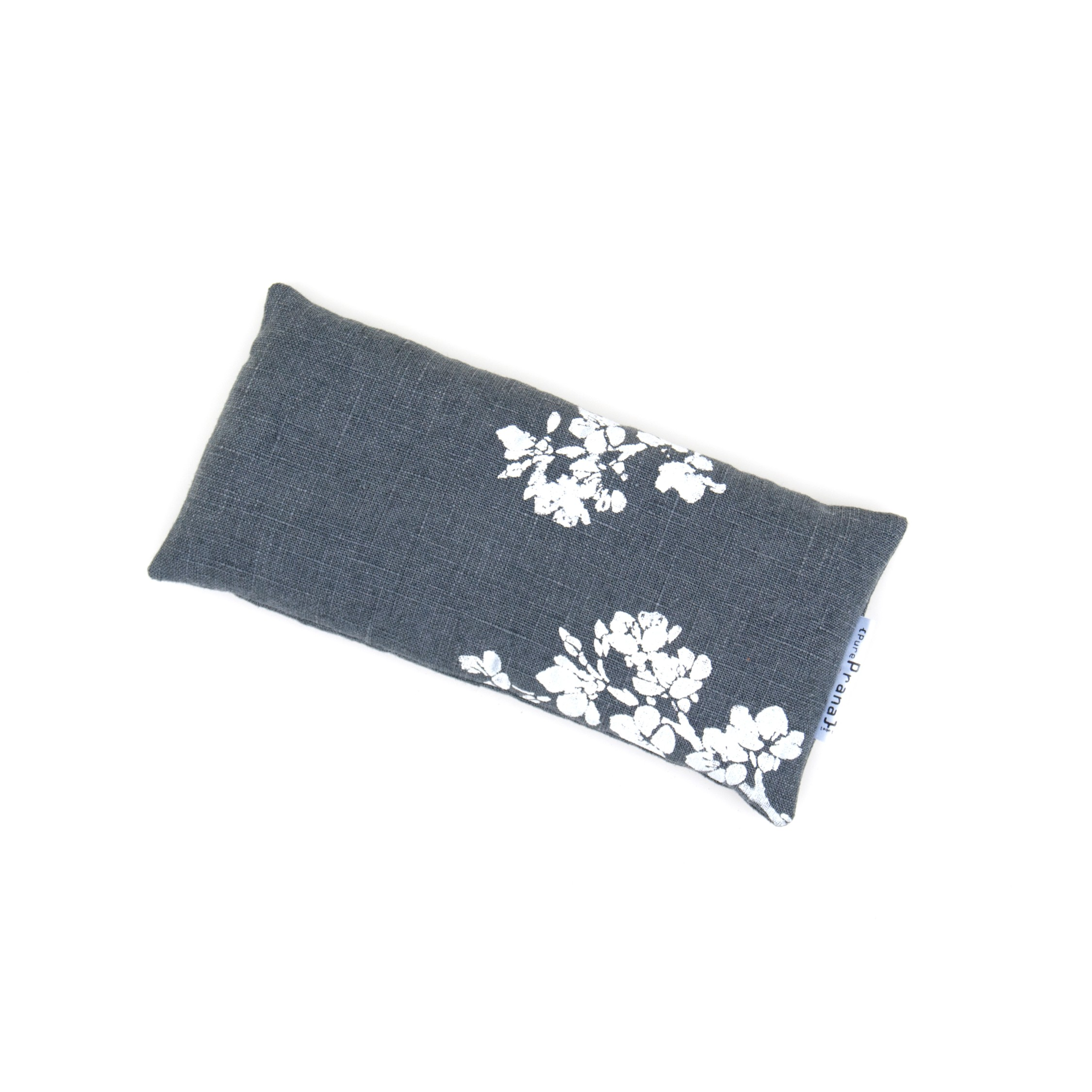 Top view of the lavender eye pillow Cherry Blossom by Pure Prana Label