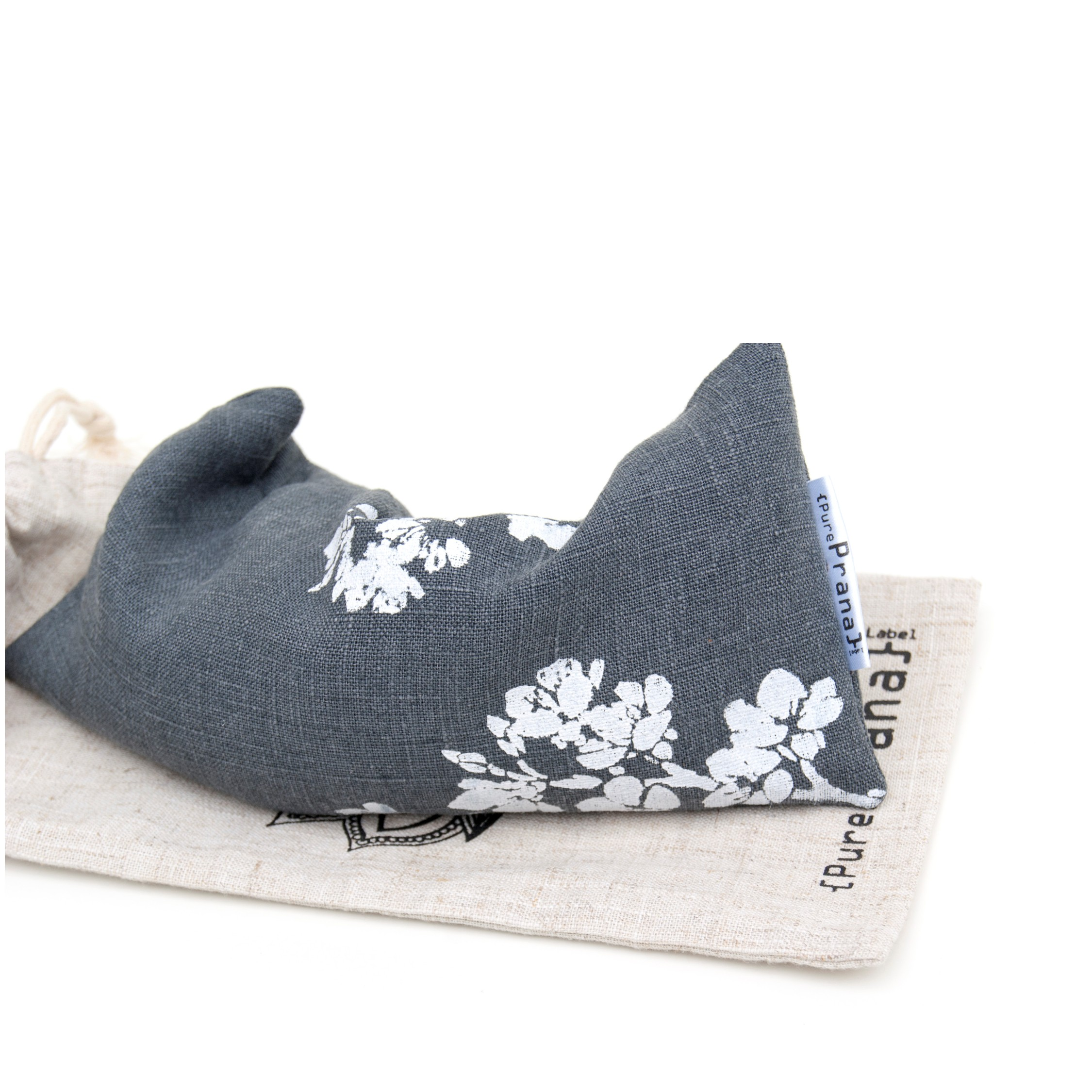 Lavender eye pillow Cherry Blossom by Pure Prana label