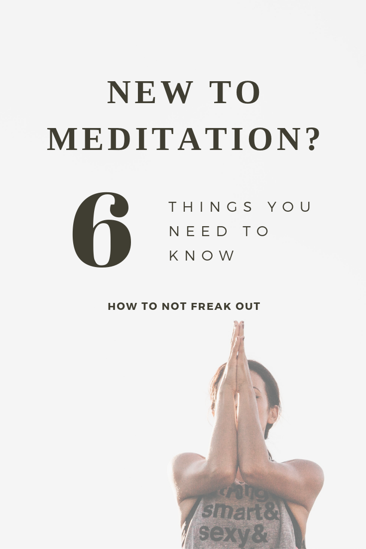 New to meditation