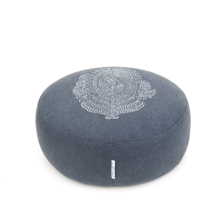 meditation cushion paisley