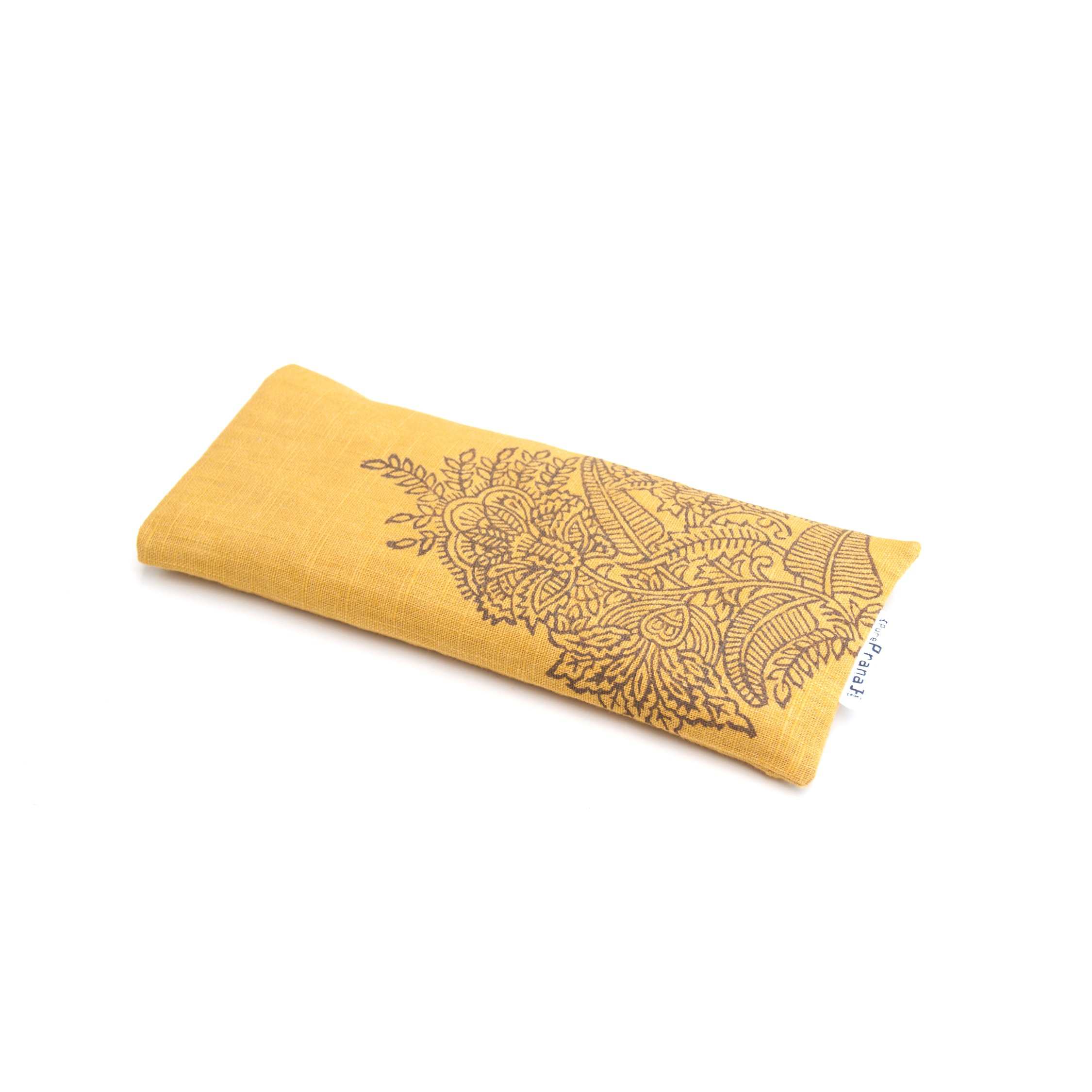 Crystal filled eye pillow by Pure Prana Label