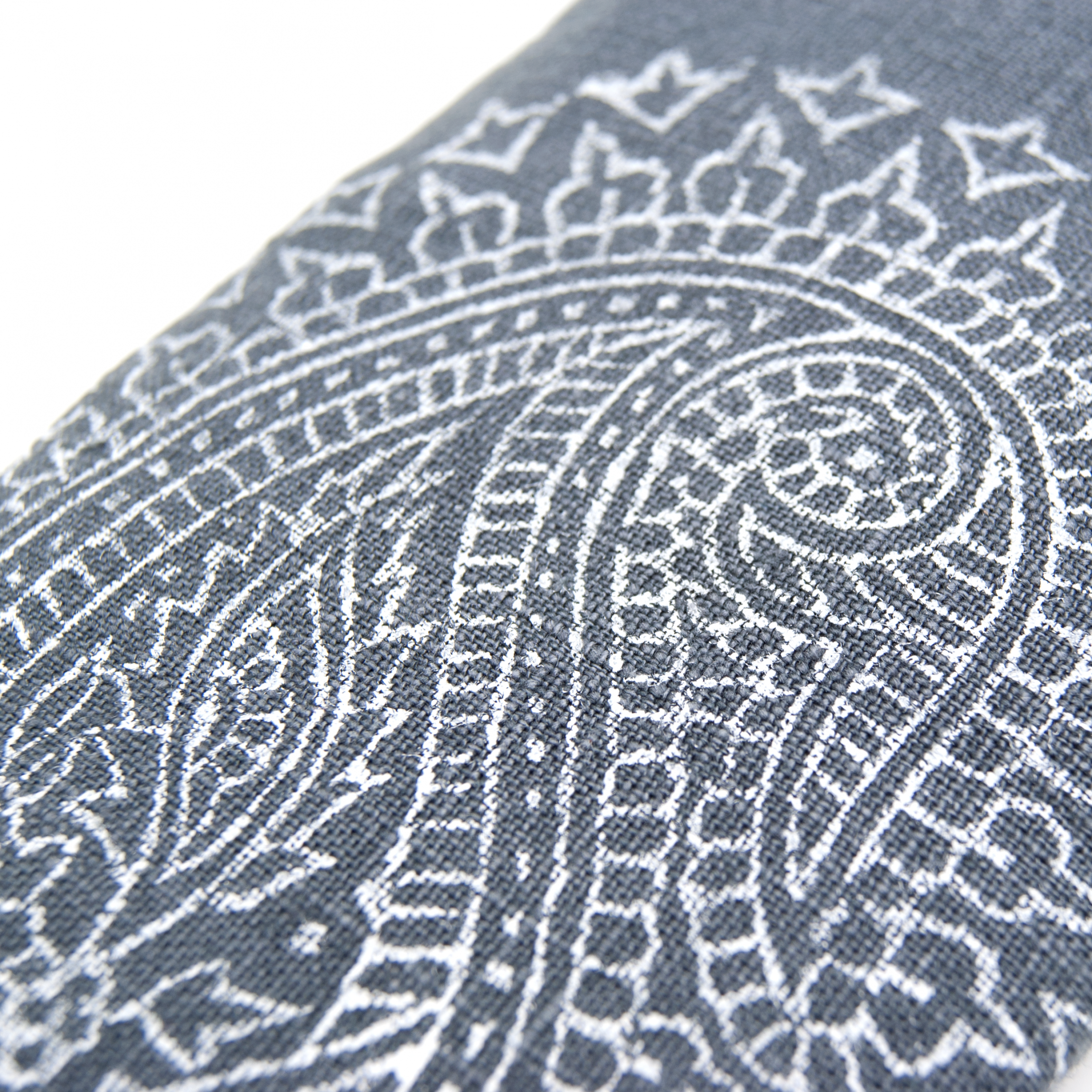close up of the Paisley print