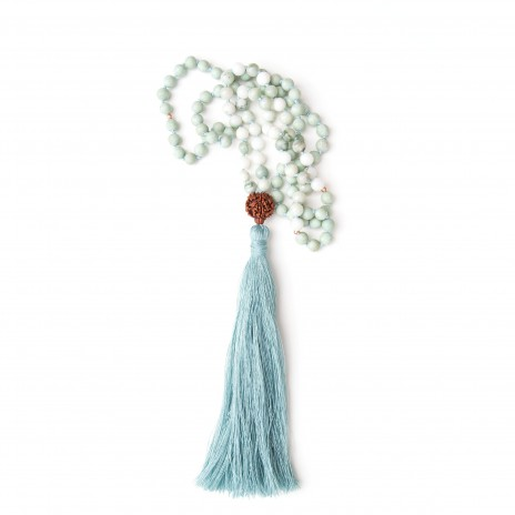 Jade mala by Pure Prana Label