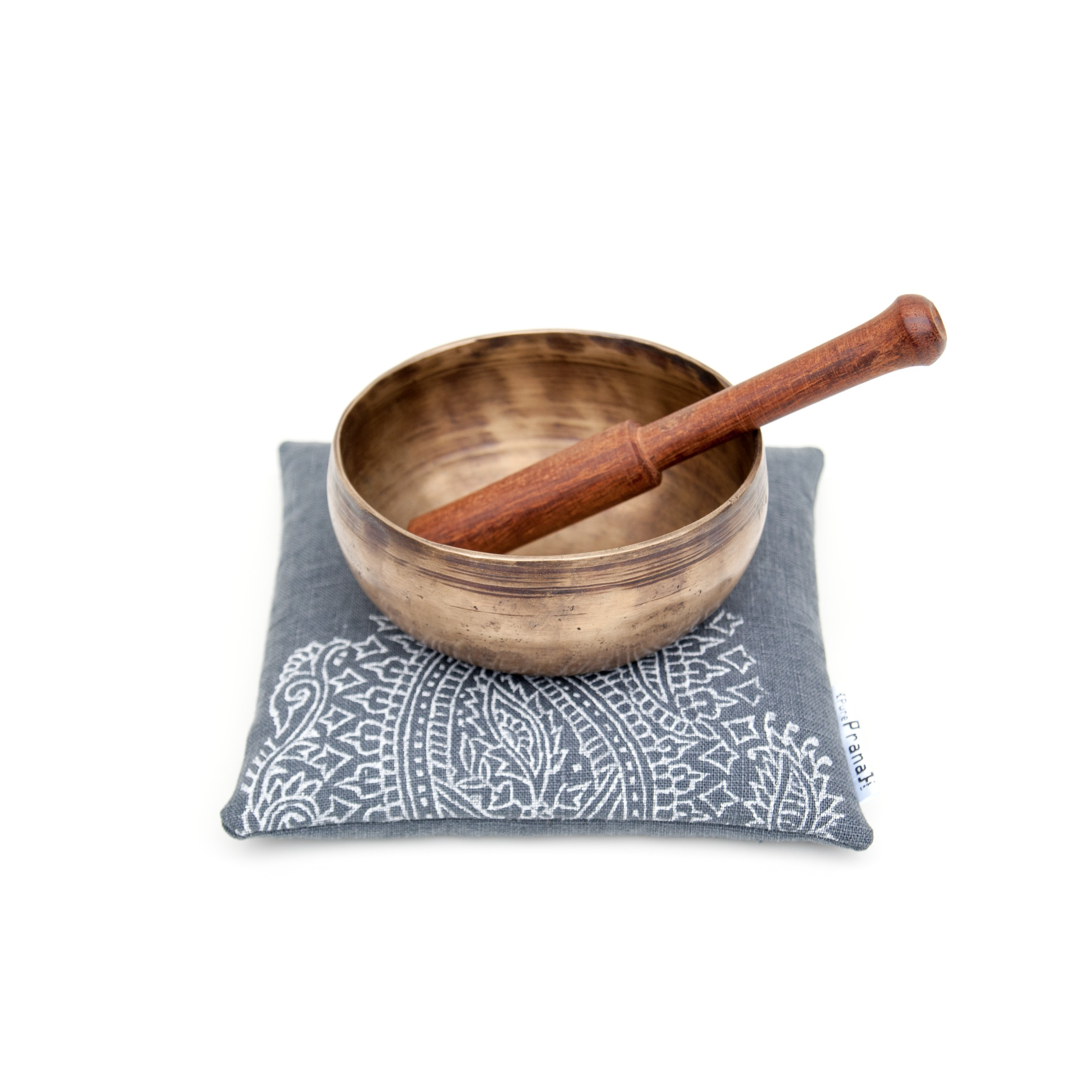 singing bowl cushion by Pure Prana Label