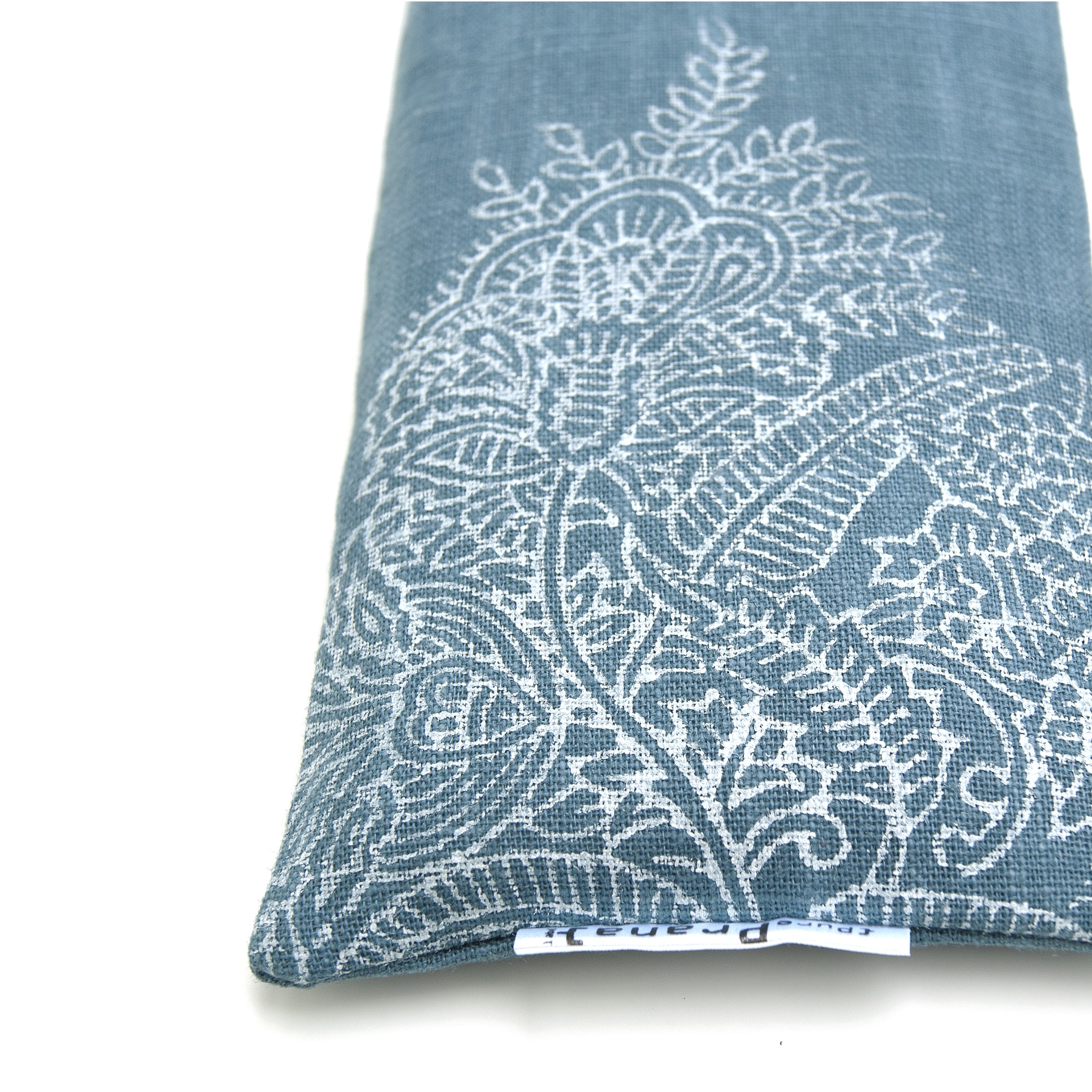 Print Royal Blue Flower Eye pillow