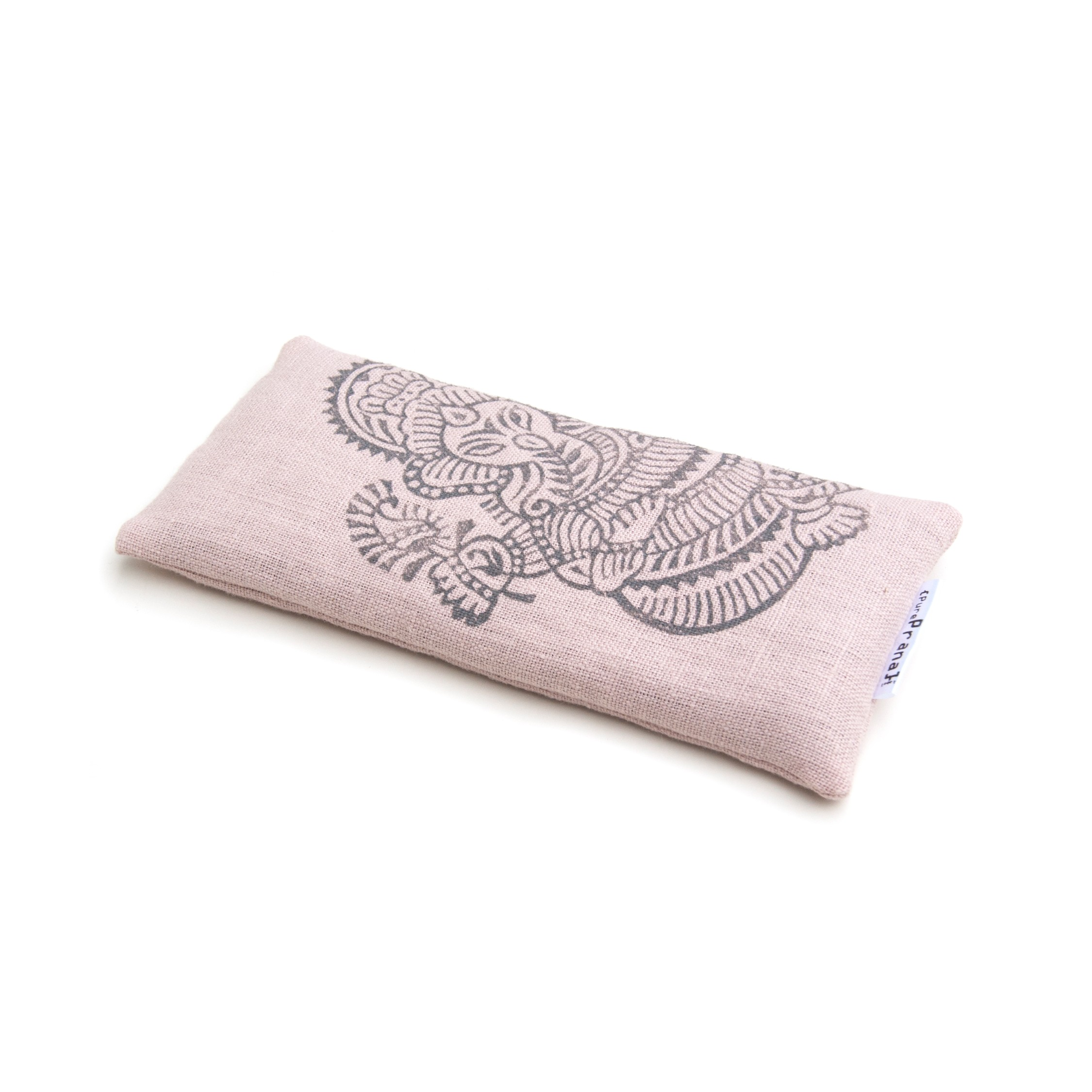 Ganesh yoga eye pillow in pink