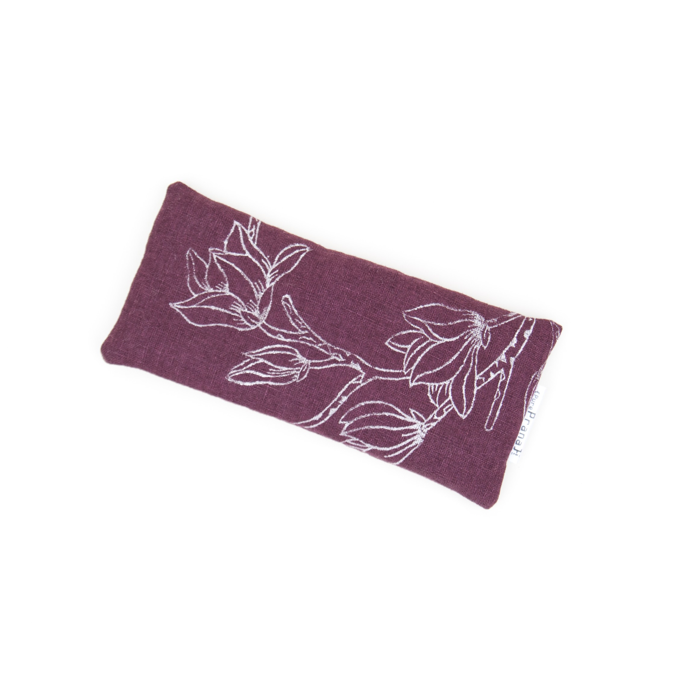 Eye pillow Magnolia Eggplant