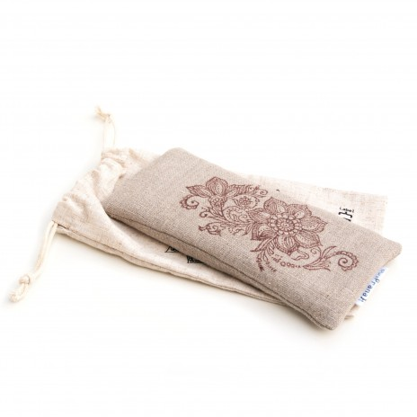 Eye pillow Mehndi Floral by Pure Prana Label
