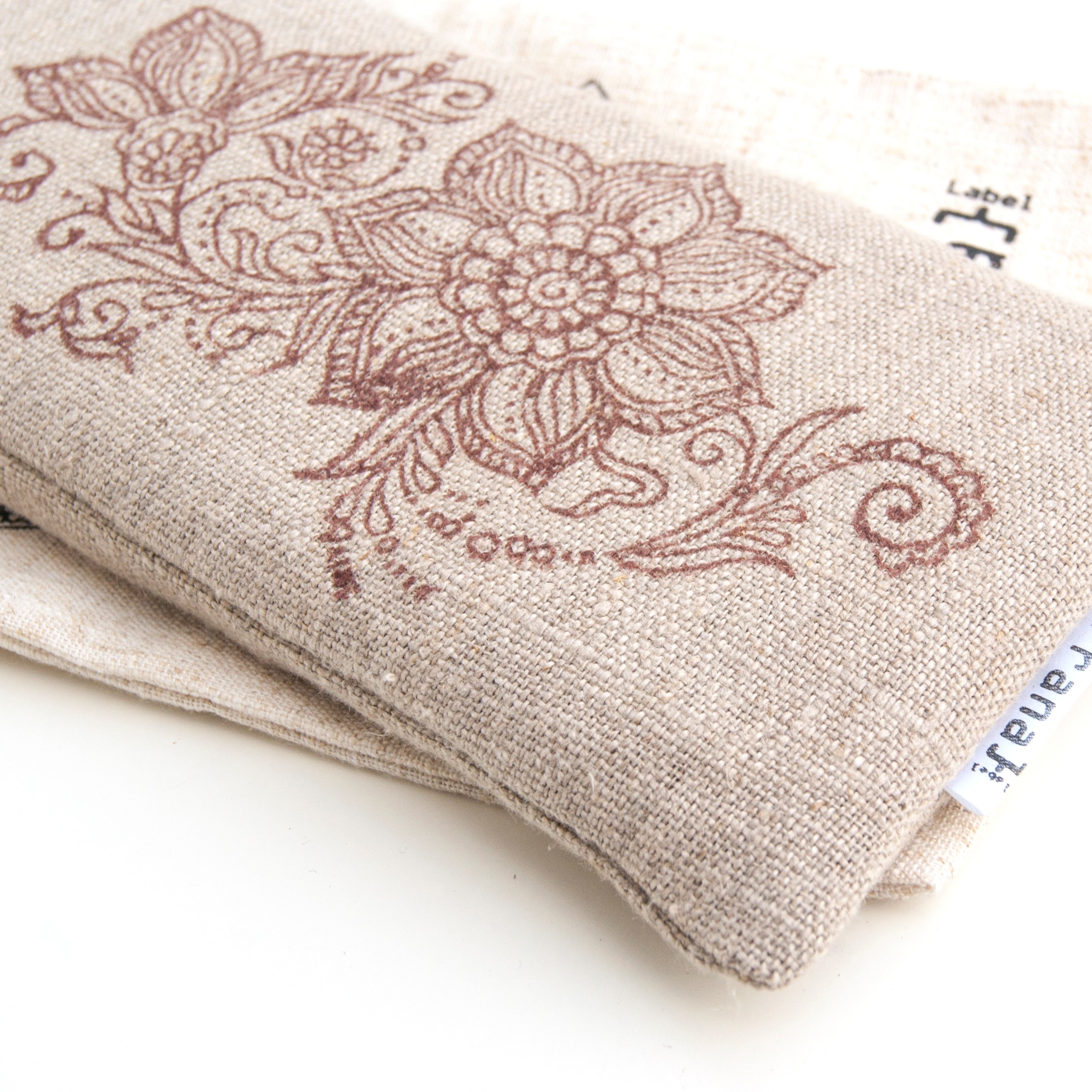 Yoga eye pillow floral
