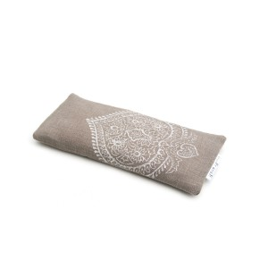 Amethyst filled organic eye pillow by Pure Prana Label