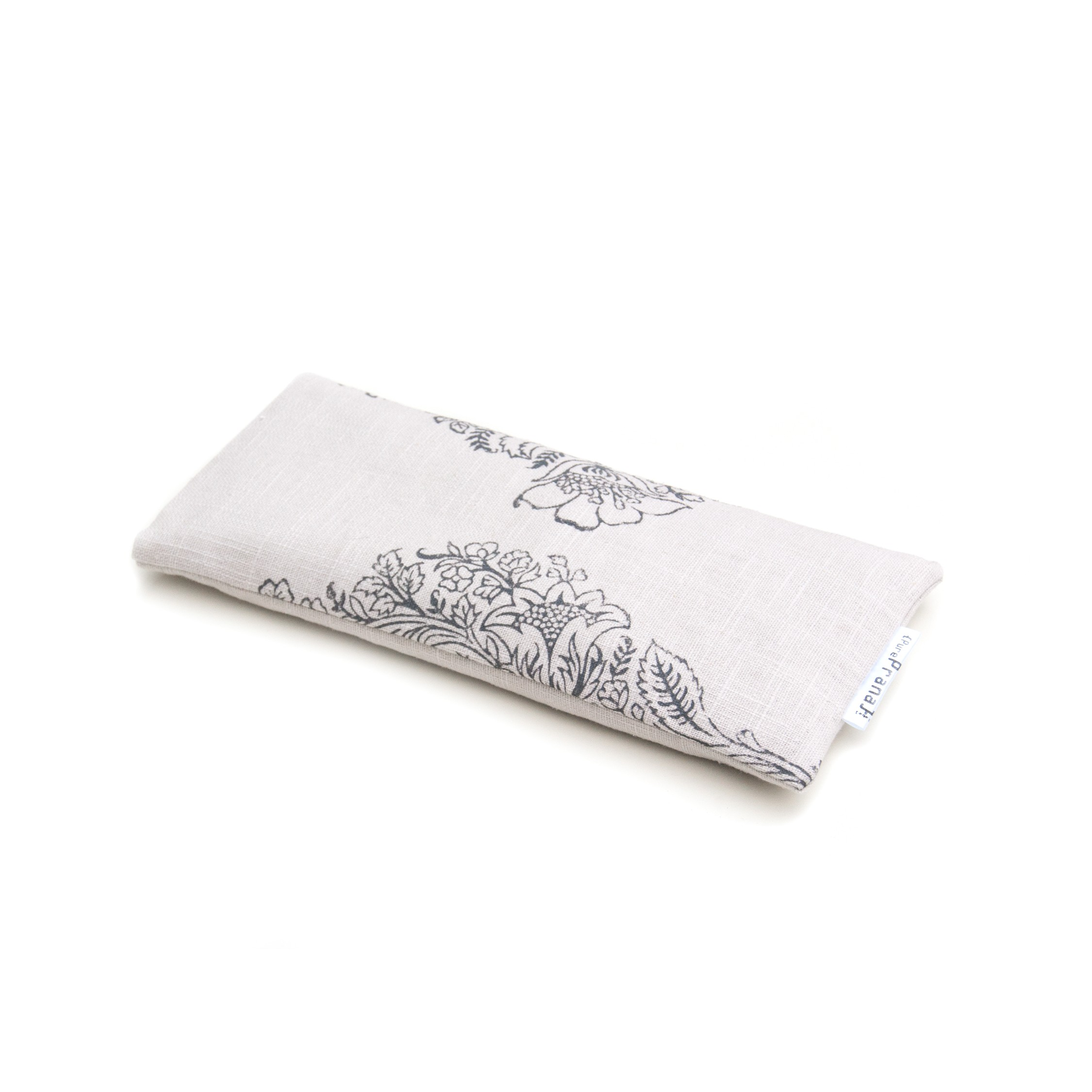 Amethyst filled lavender eye pillow by Pure Prana Label