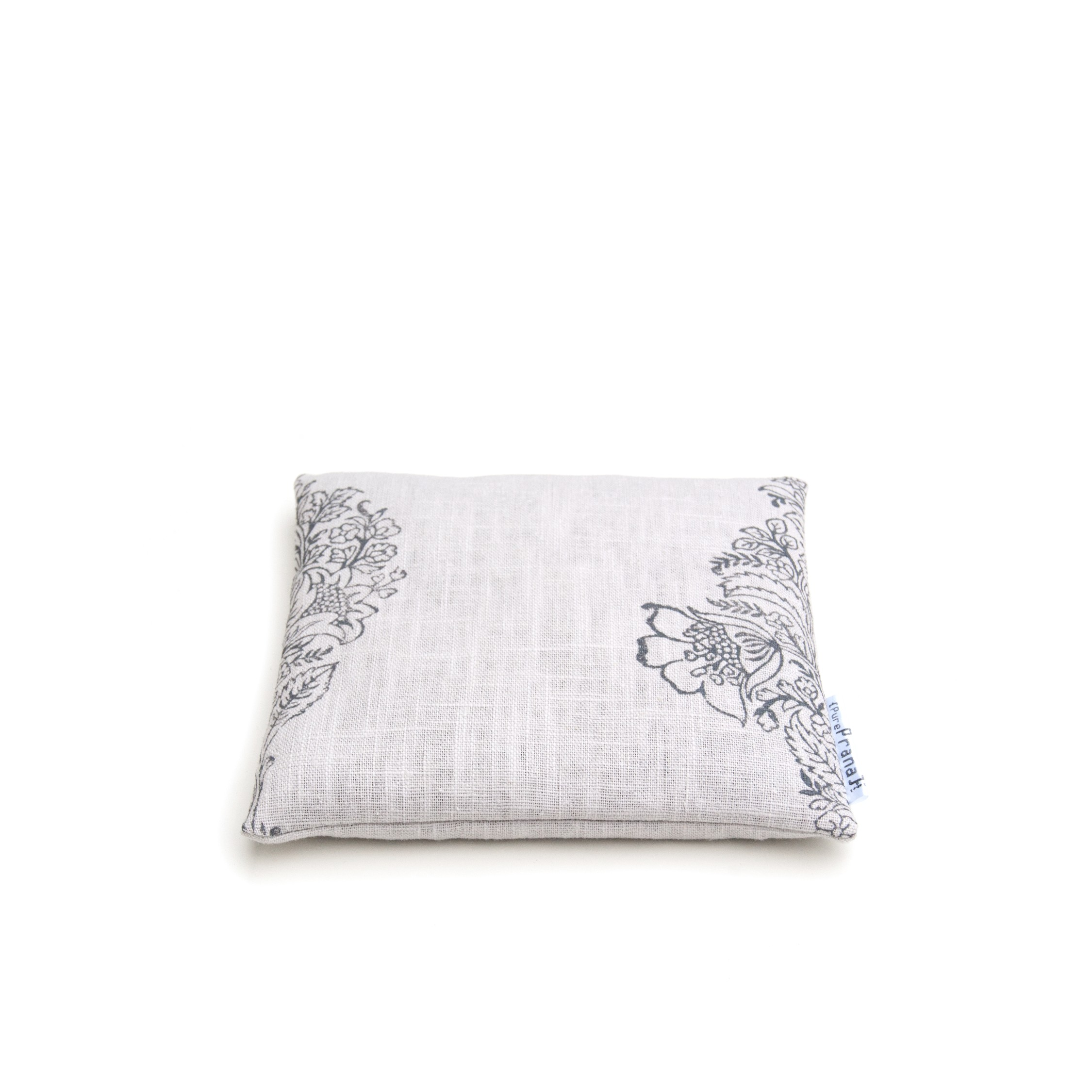 Singing bowl pillow Ethnic flower by Pure Prana Label