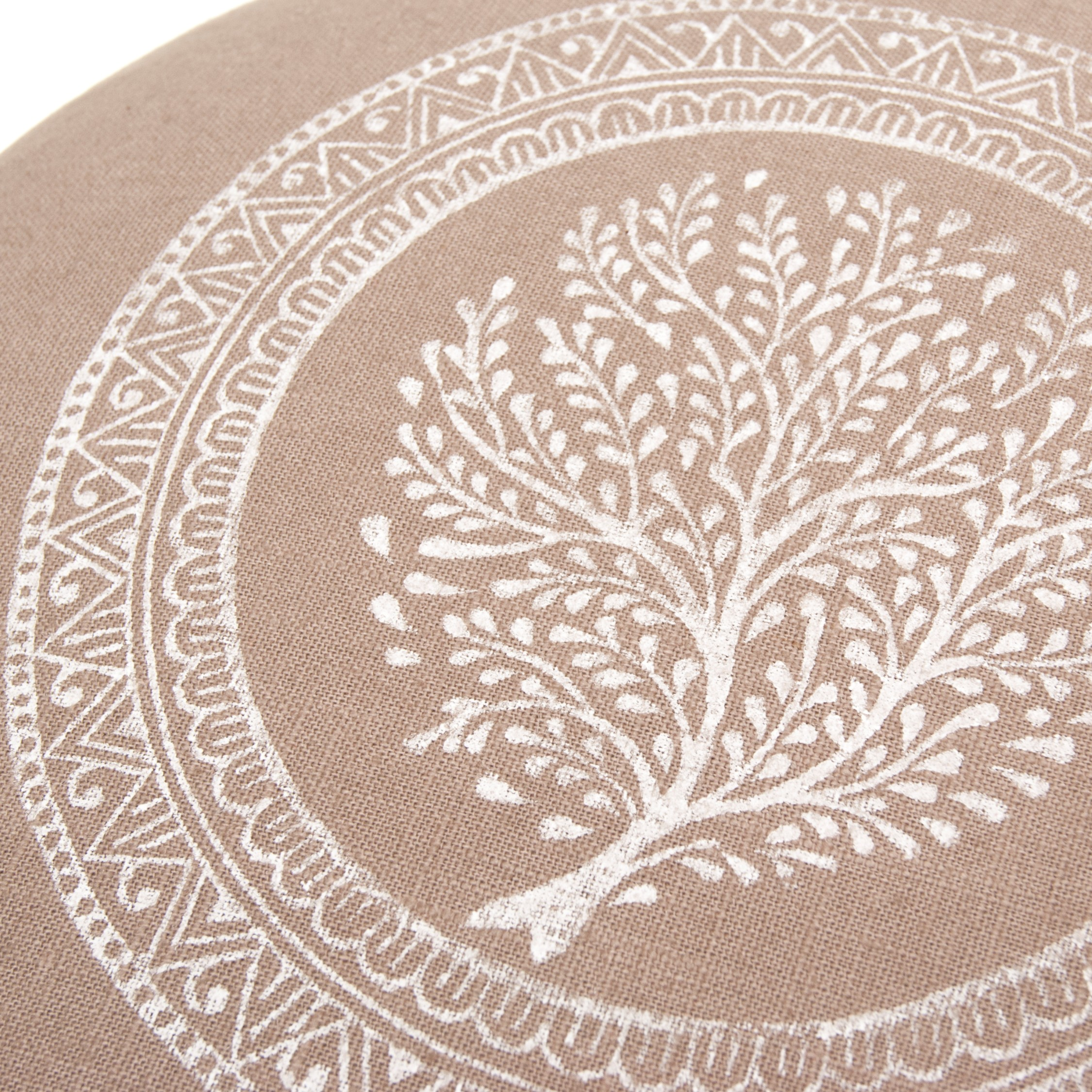 Tree of Life print on meditaiton cushion by Pure Prana Label
