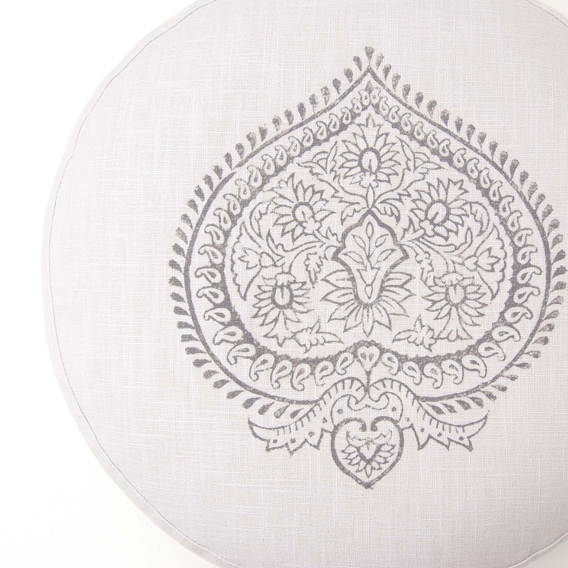 De uniek gemaakte meditatie kussens van Pure Prana Label worden in Nederland gemaakt, van 100% linnen