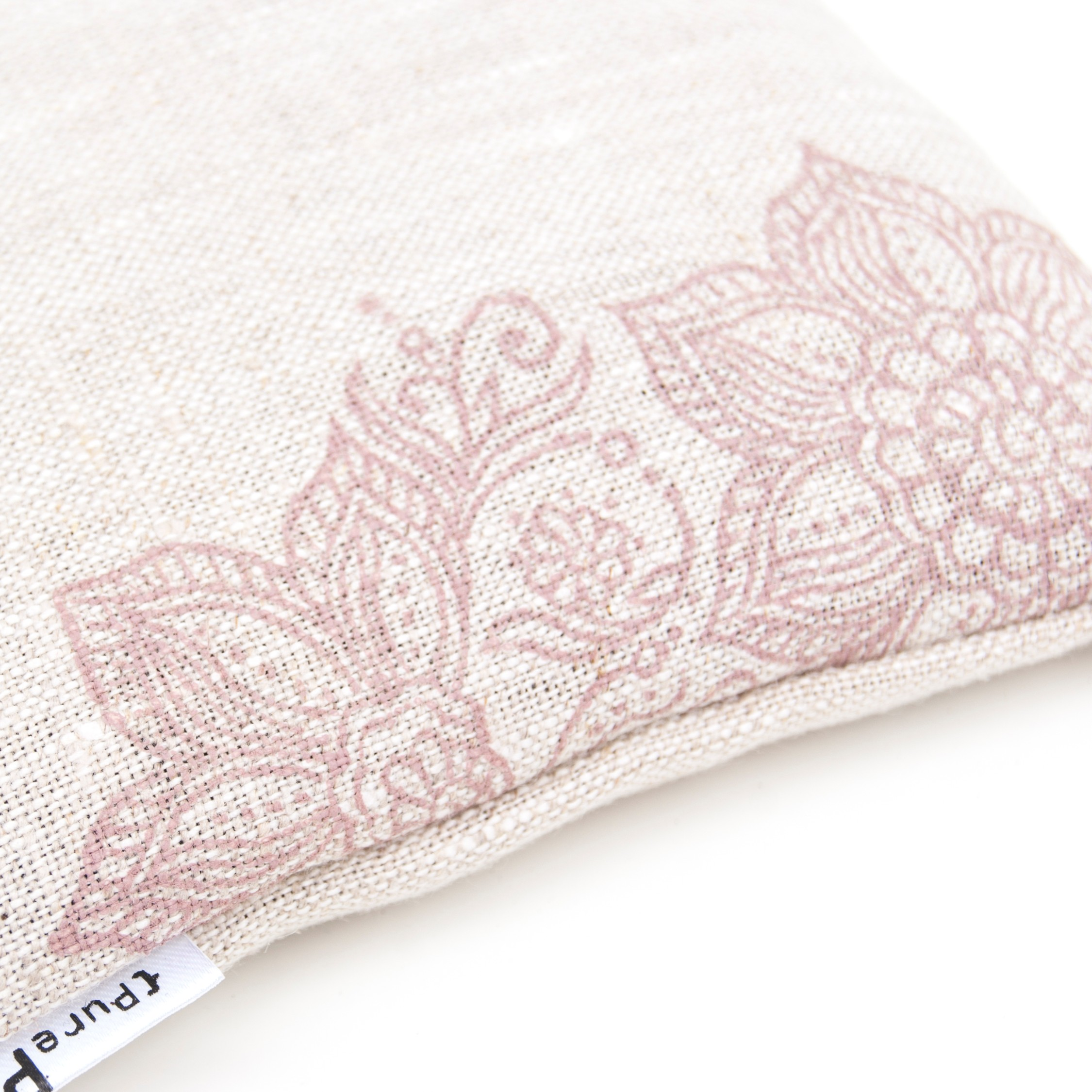 Handprinted singing bowl cushion