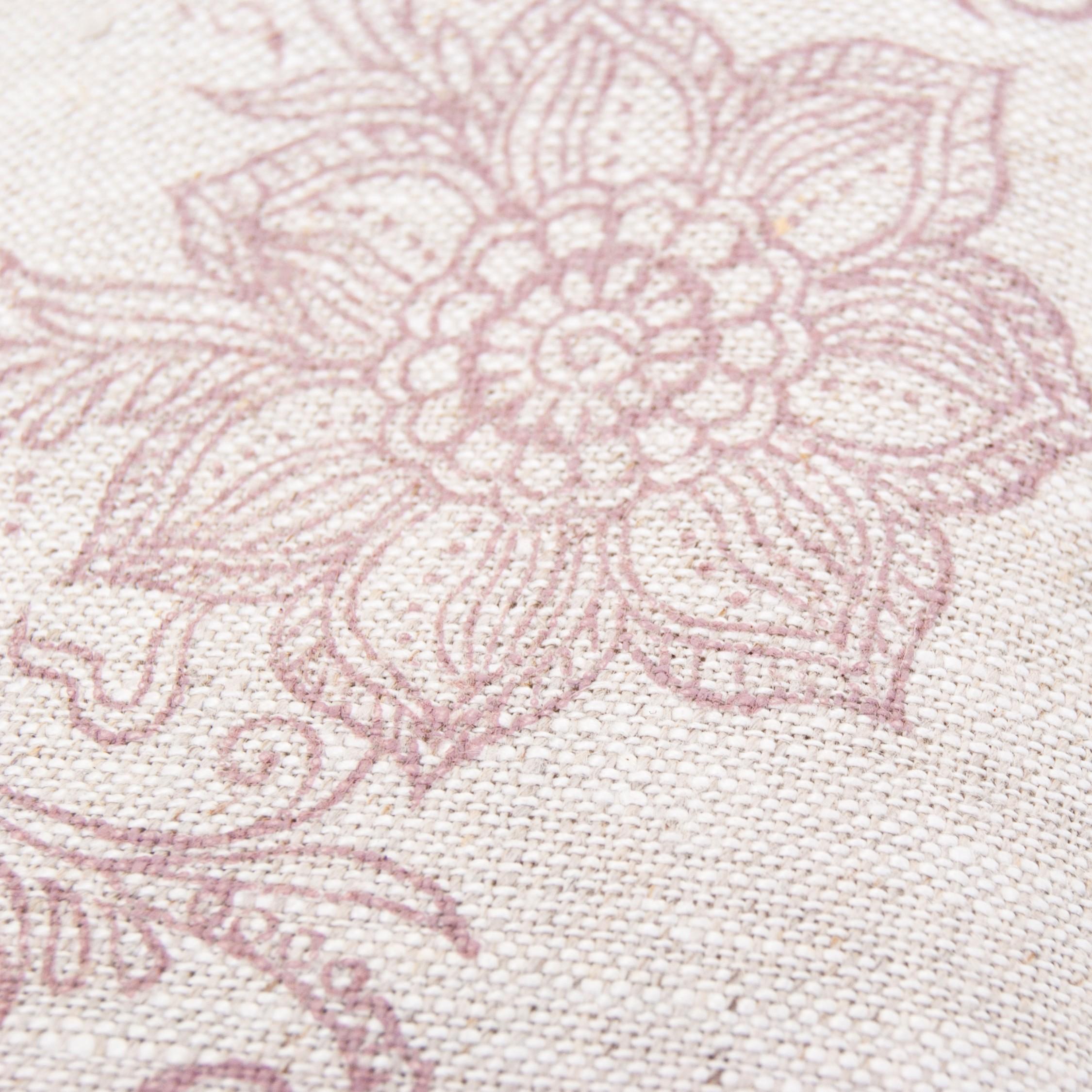 Handprinted eye pillow
