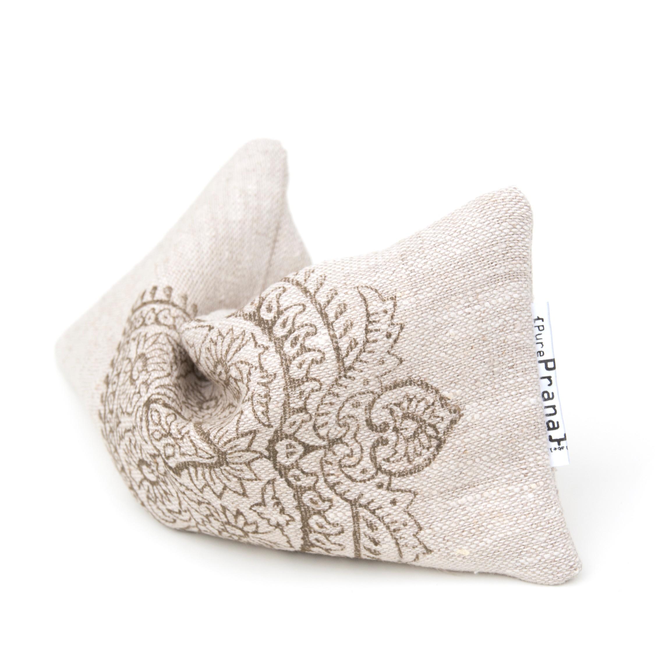 Eye pillow for yoga nidra, savasana and guided meditation