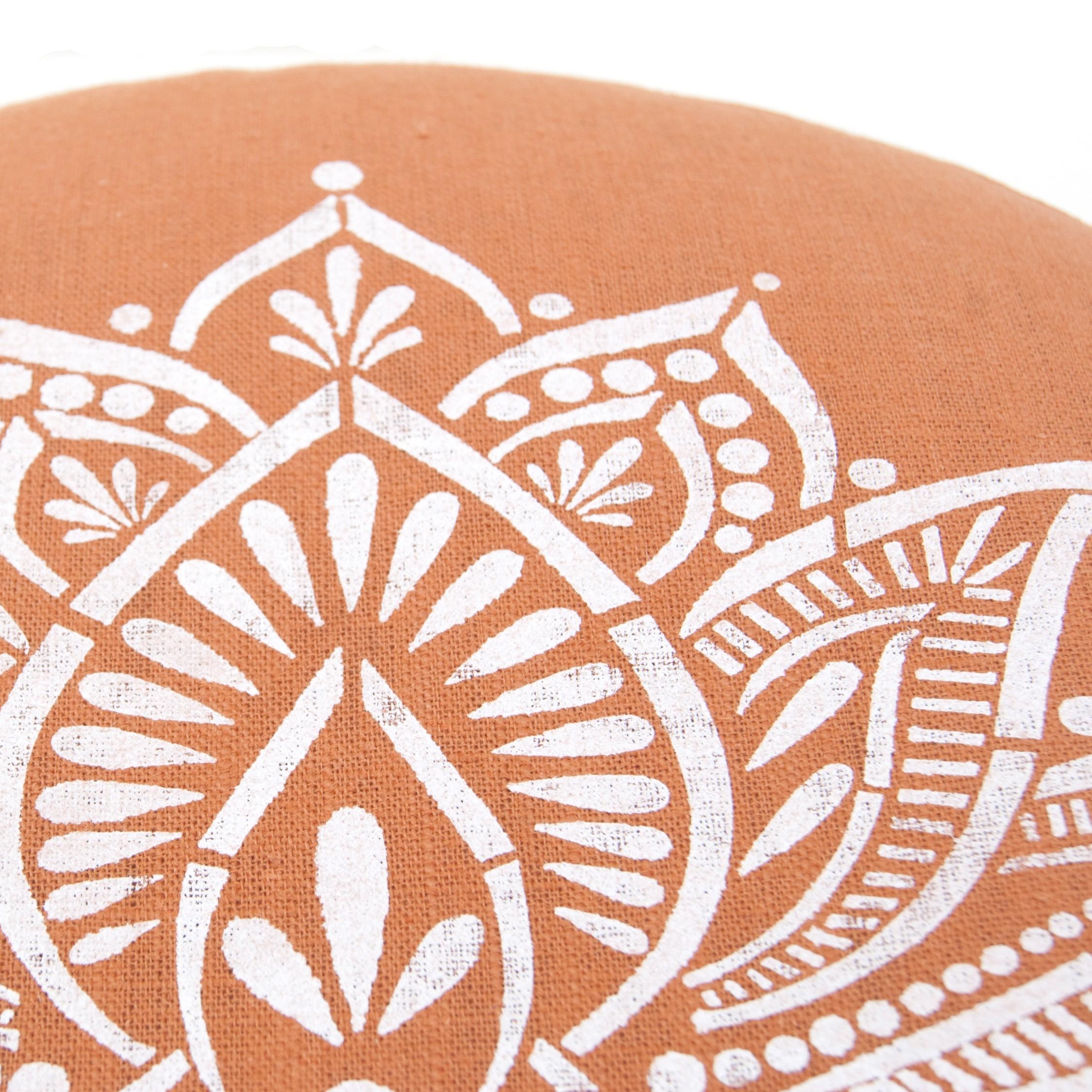 Lotus meditation pillow