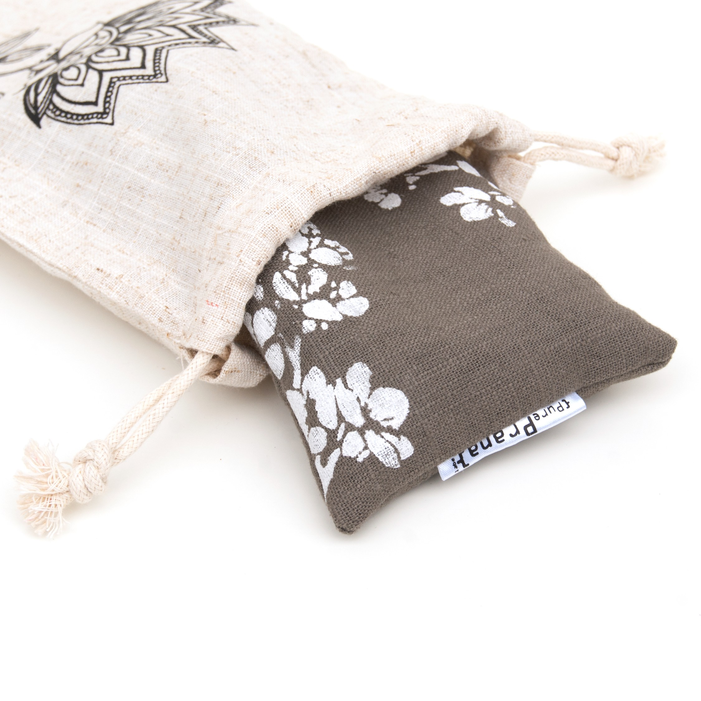 Your eye pillow comes in a lovely pouch to keep it dustfree and clean