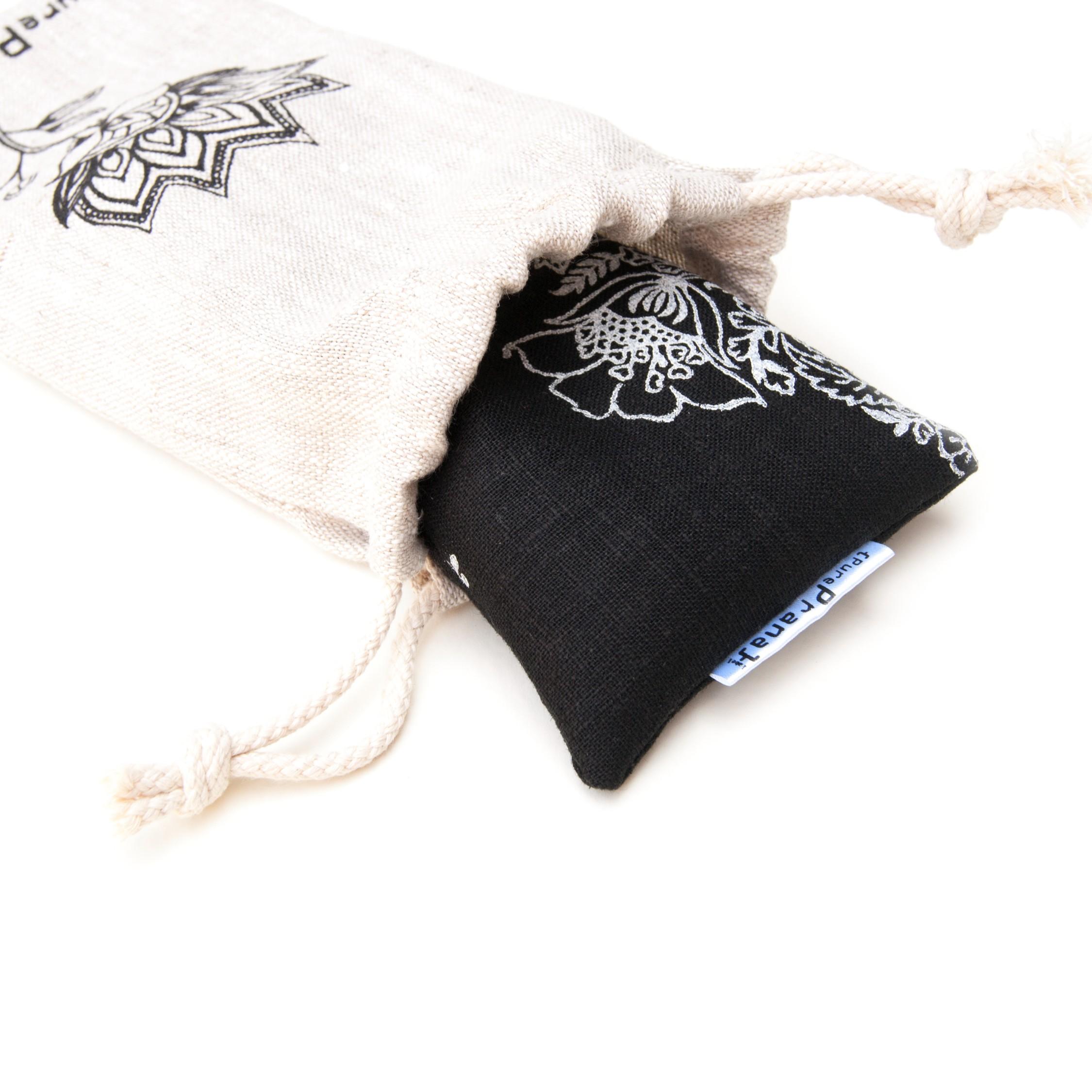 Lavender eye pillow for yoga