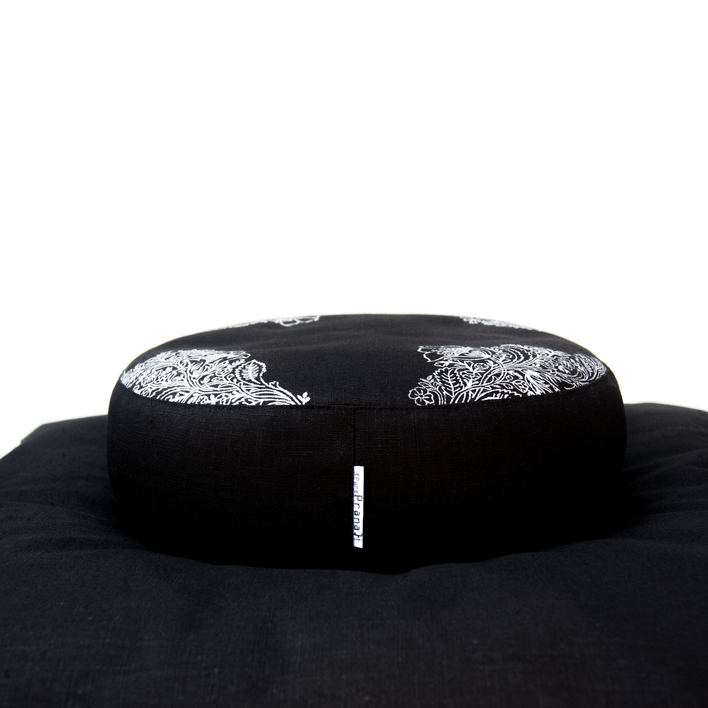 Meditation set in black Oeko TEX certified flax linen