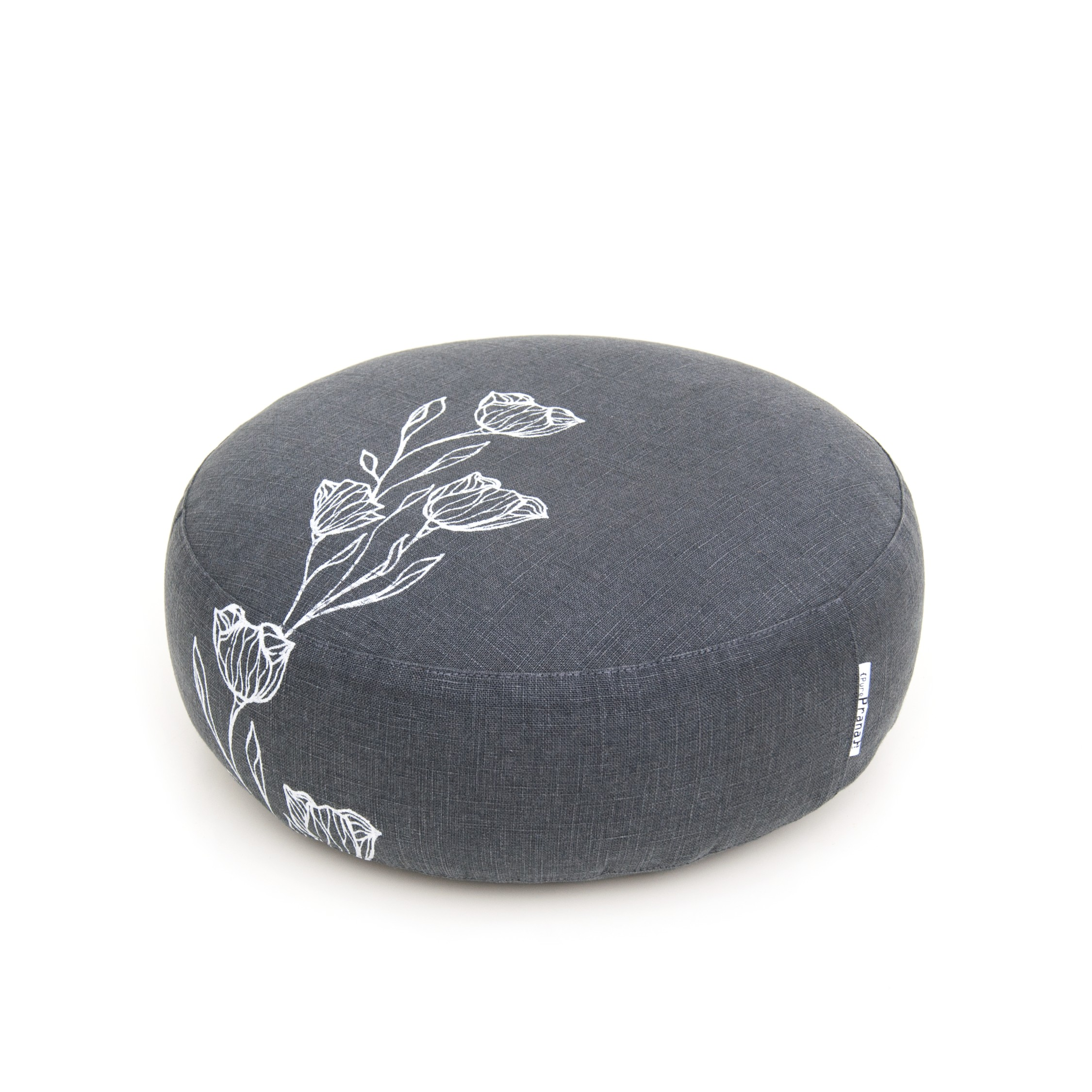 Floral meditation pillow by Pure Prana Label