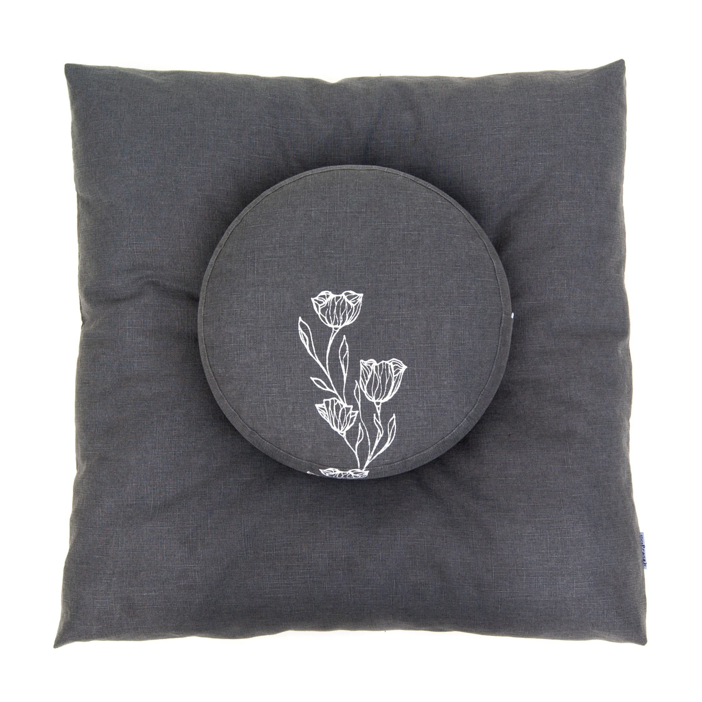 Minimalistic and floral meditation set by Pure Prana Label